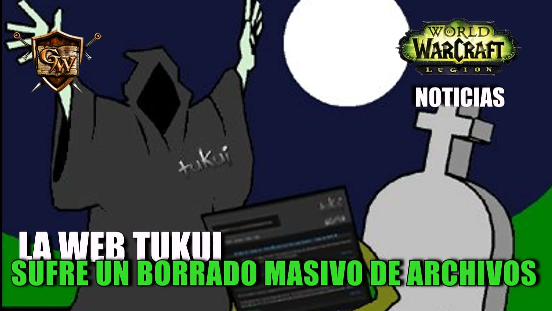 La página de los addons Tuk/Elv UI sufre un hackeo y borrado de toda su web
