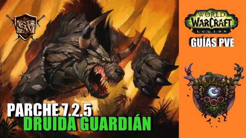 Druida Guardián – Guía PVE – Parche 7.2.5