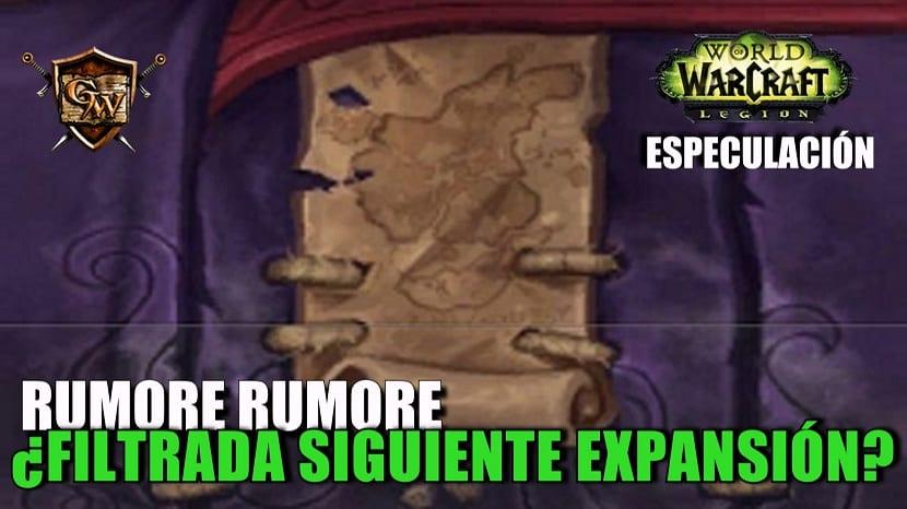 Blizzard podría haber filtrado la ubicación de la próxima expansión de World of Warcraft