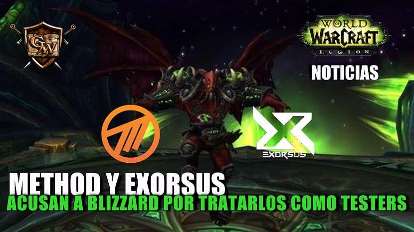 Method y Exorsus acusan a Blizzard de tratarlos como