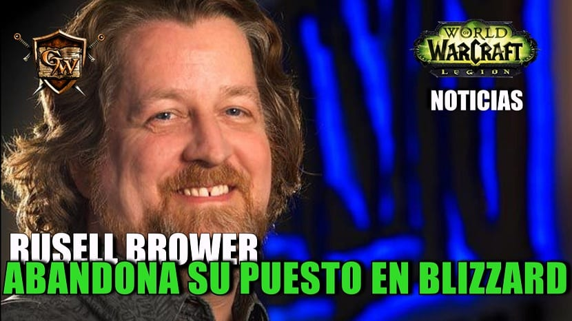 Russel Brower abandona Blizzard