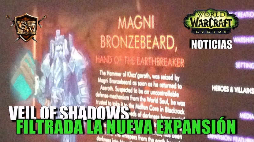Veil of Shadows: Filtrada información de la nueva expansión de World Of Warcraft