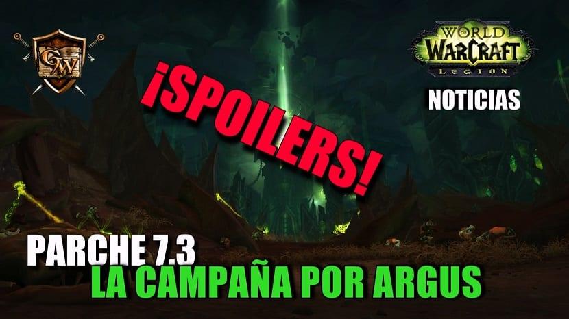 Parche 7.3: La campaña por Argus