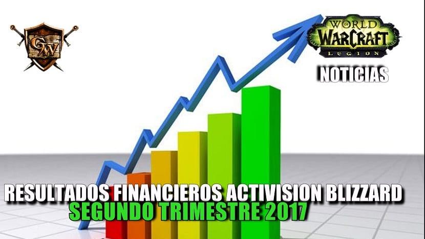 Resultados financieros de Activision Blizzard en el segundo trimestre de 2017