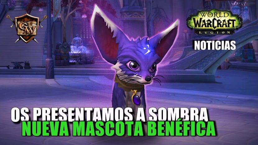 Os presentamos a Sombra, la nueva mascota benéfica