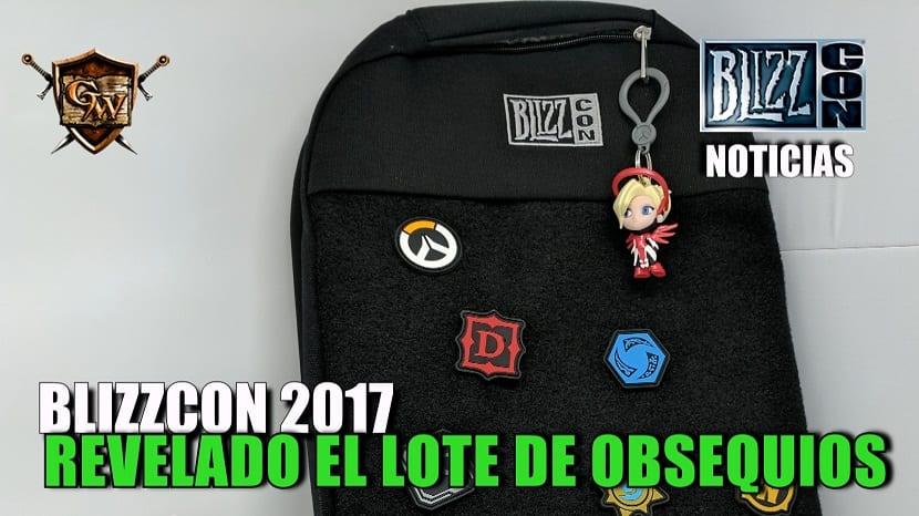 Revelada la bolsa de obsequios para la Blizzcon 2017
