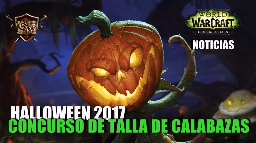 Concurso de talla de calabazas de Halloween 2017