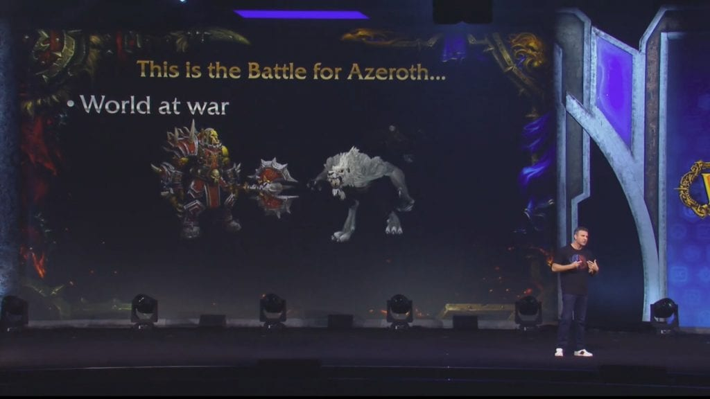 Battle for Azeroth - Embajadas de facción