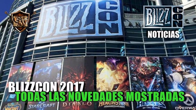 Todas las novedades presentadas en la Blizzcon 2017