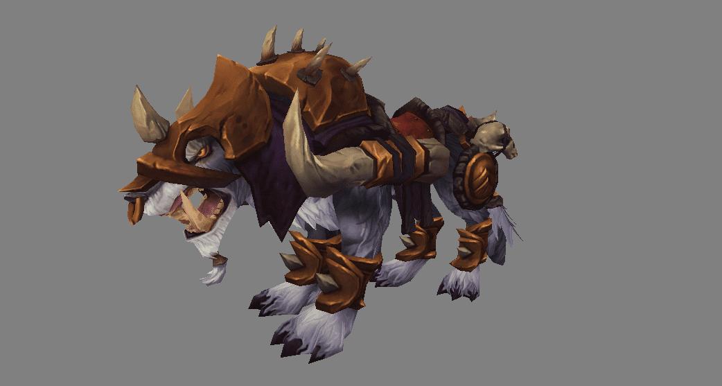 Riendas del Lobo de guerra korkron
