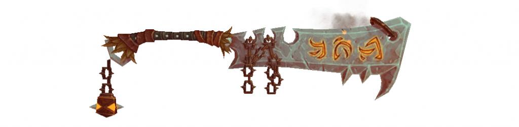 espada magna de gladiador cataclismico