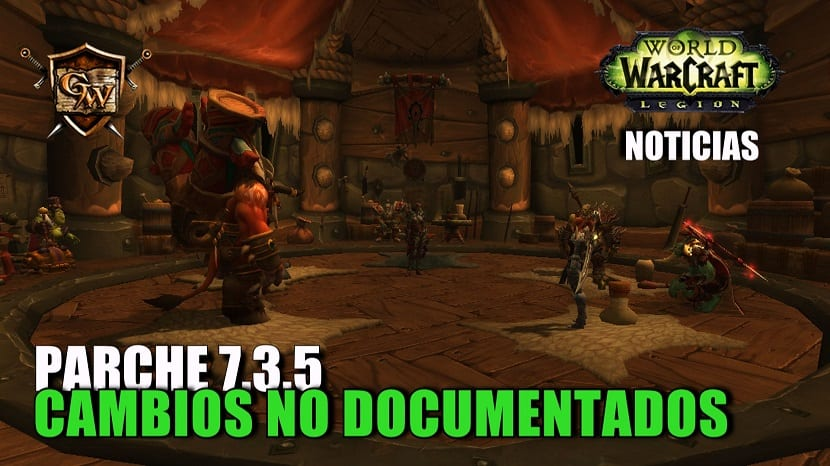 Parche 7.3.5 - Cambios no documentados