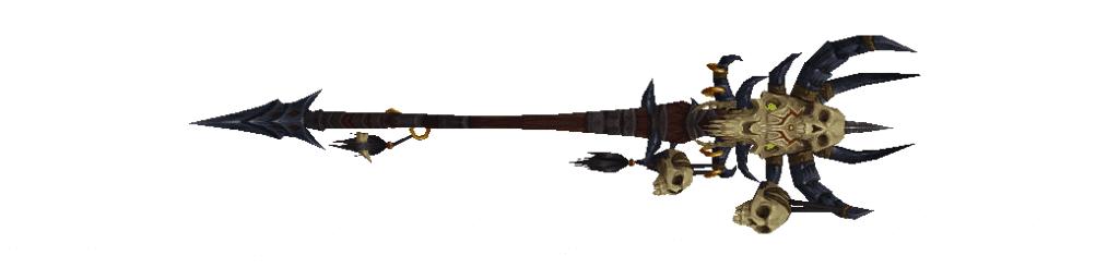 Réplica de bastón de Gul'dan