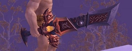 espada roja de coraje