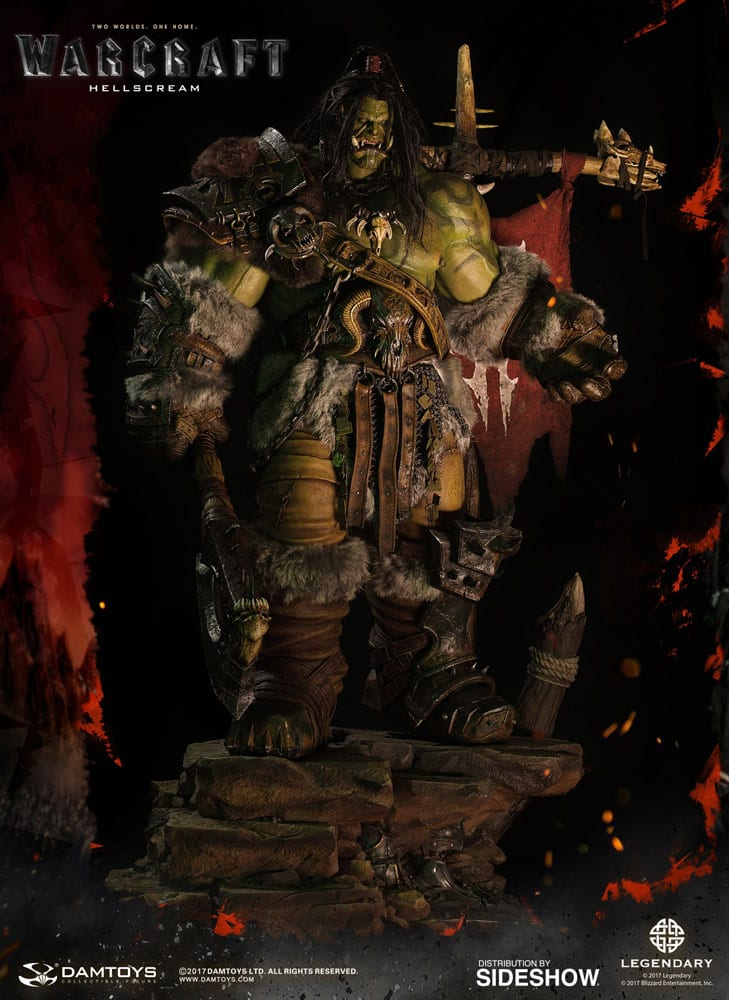 estatua grom hellscream frontal