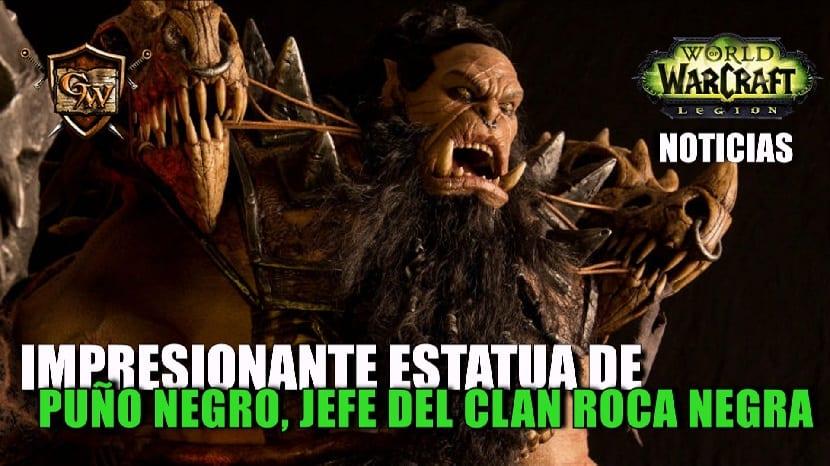 Portada de Puño Negro, Jefe del Clan Roca Negra
