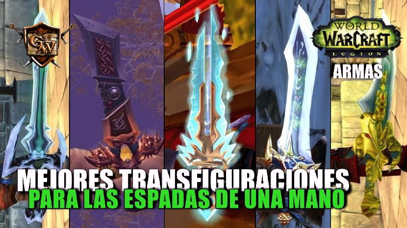 portada mejores transfiguraciones de espadas a una mano