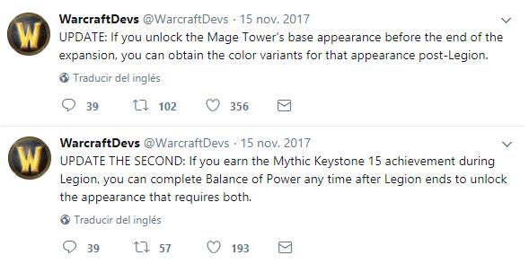 blizzard responde armas artefacto twitter dev 2