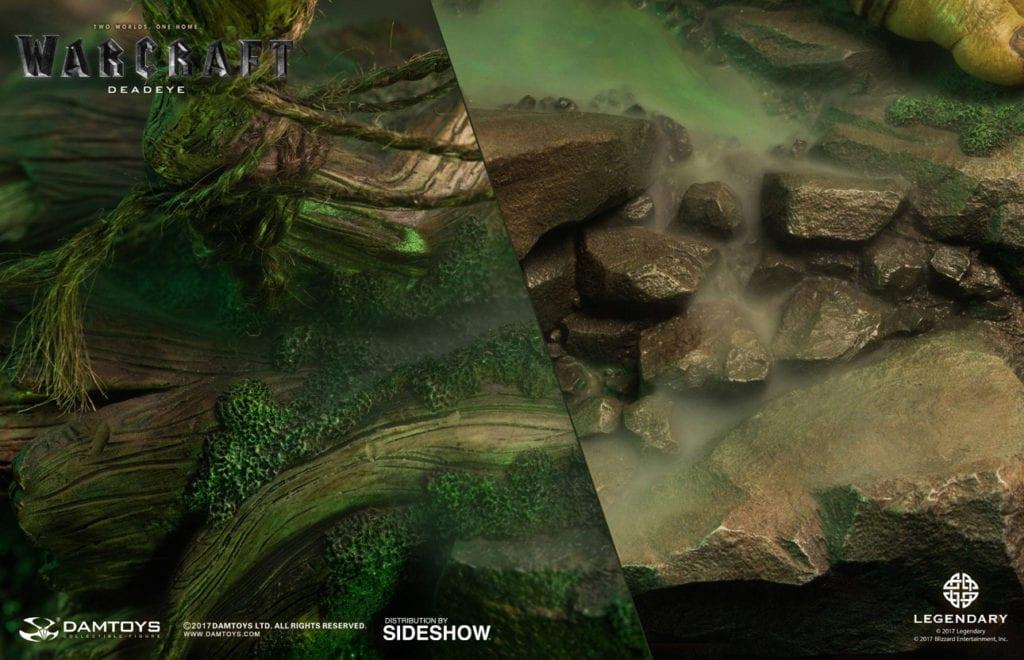 sorprendente estatua de kilrogg mortojo