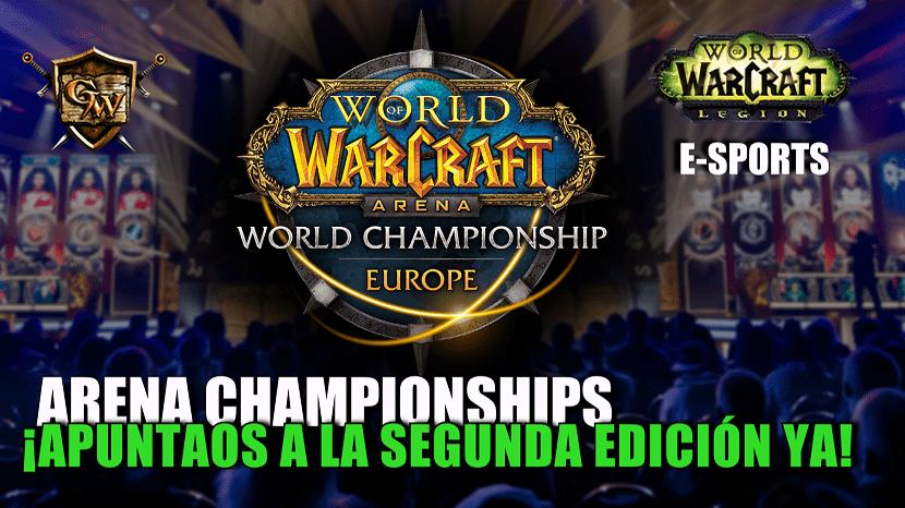Arena Championships: ¡Apuntaos a la segunda edición ya!