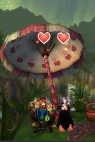 amor en el aire