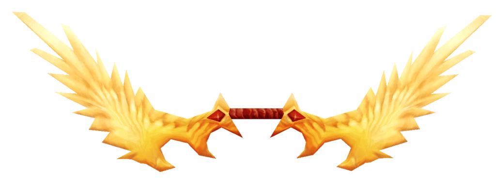 Arco de halcón fuego celeste