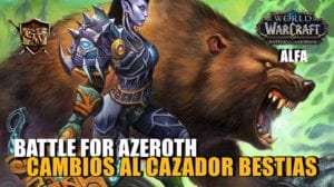 cazador bestias en battle for azeroth