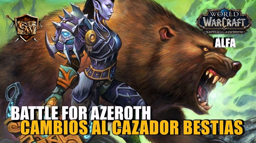 cazador bestias en battle for azaroth