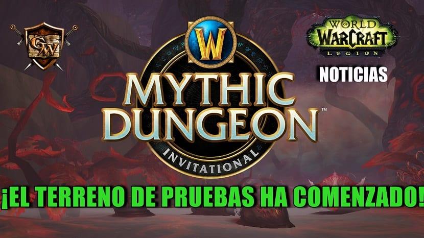 Vuelve el Mythic Dungeon Invitational: ¡El Terreno de Pruebas ha comenzado!