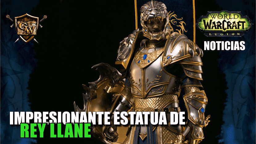 portada estatua del rey llane