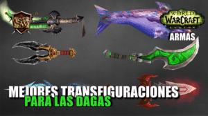 portada Mejores transfiguraciones de dagas