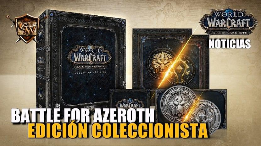 Edición coleccionista de Battle for Azeroth