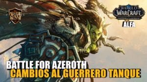 guerrero tanque en battle for azeroth
