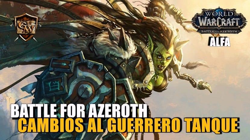 guerrero tanque en battle for azeroth