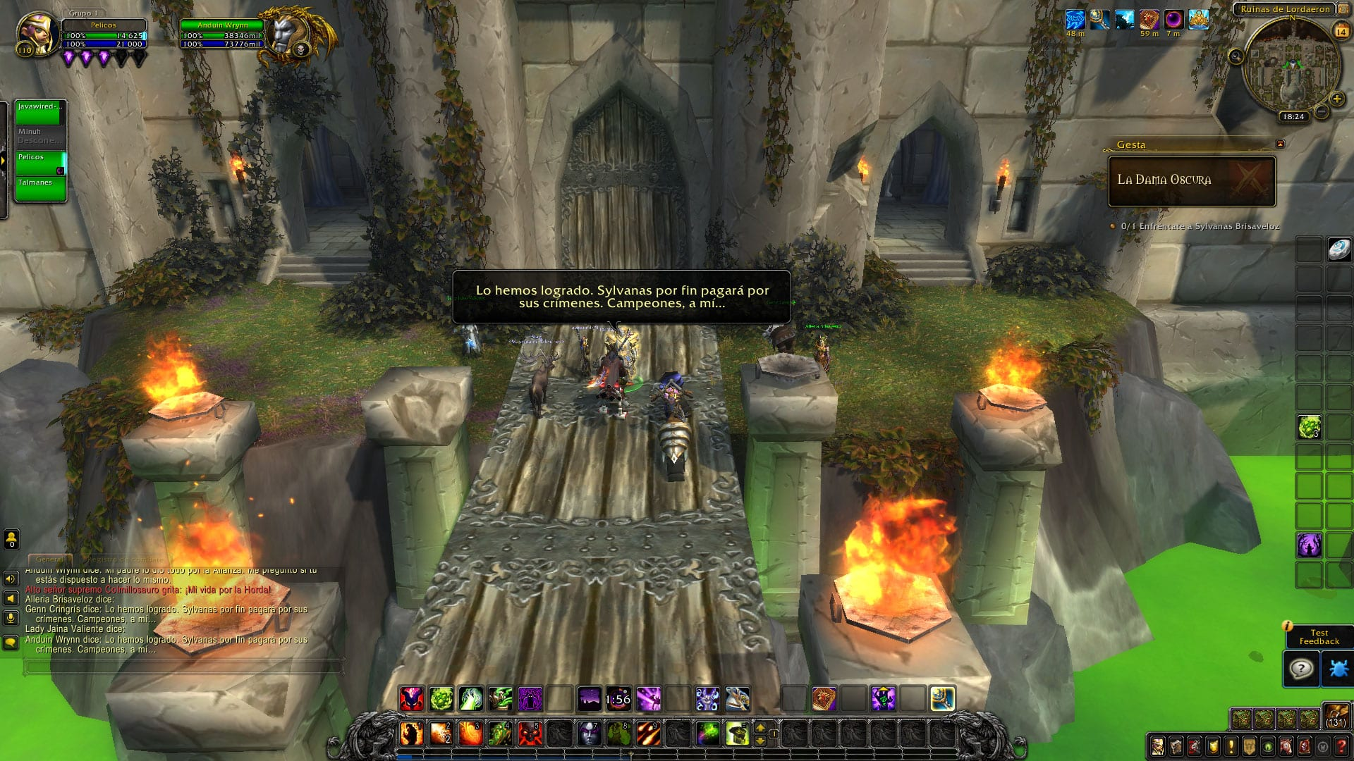 Evento pre parche 8.0: El ataque a Lordaeron (Alianza)