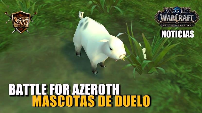 Duelos de mascotas en Battle for Azeroth: futuros cambios y filosofía