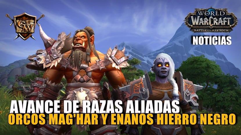 Avance: Orcos Mag'har y enanos Hierro Negro