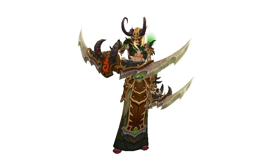 cazador de demonios Demonbane Armor
