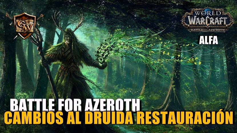 Druida Restauración en Battle for Azeroth