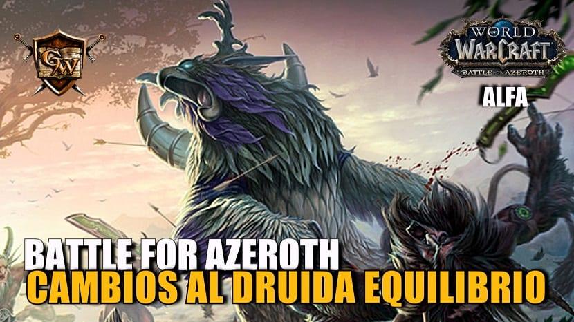 Druida Equilibrio en Battle for Azeroth