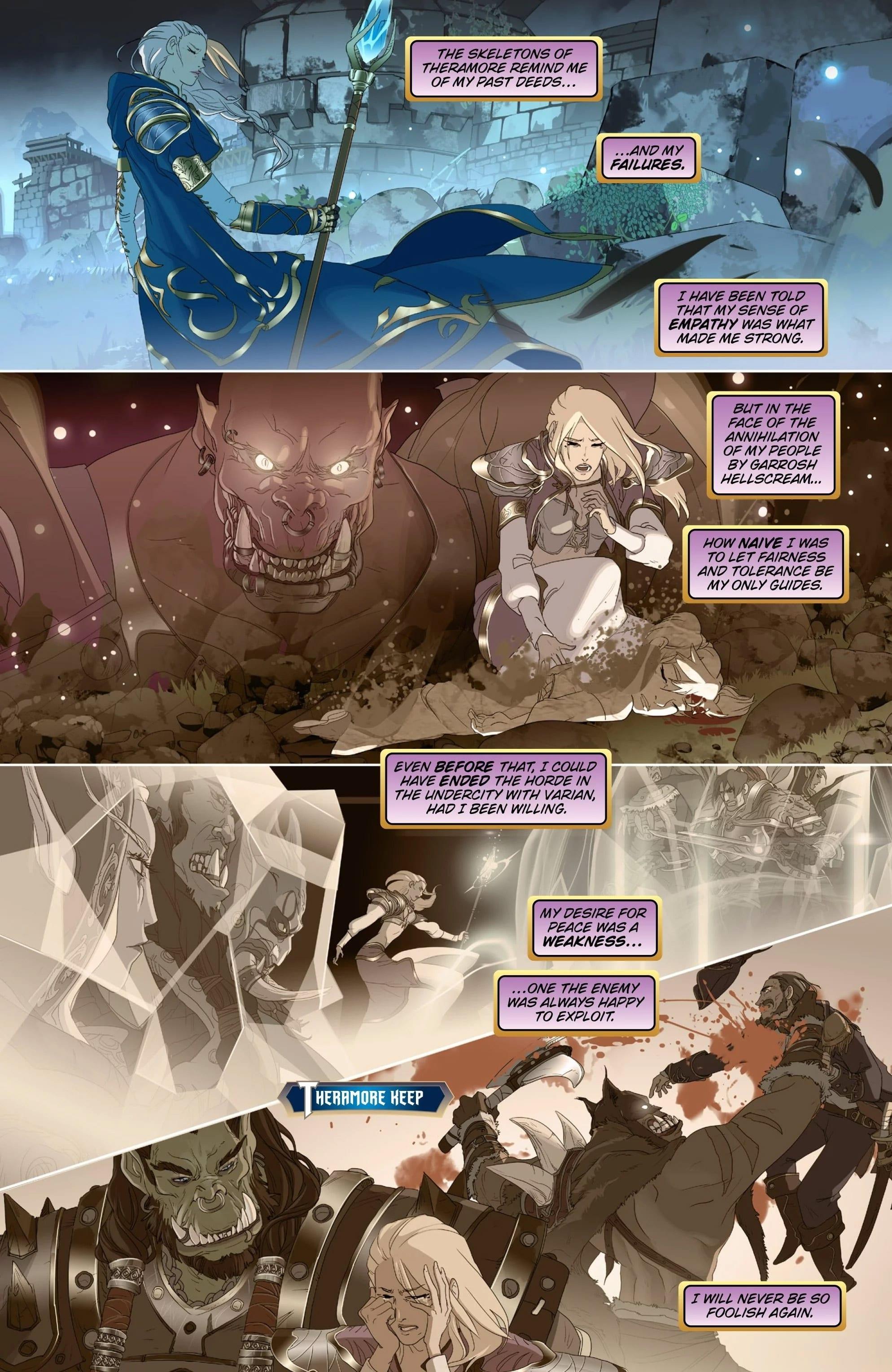 Blizzard lanzará tres cómics digitales con lore de Battle for Azeroth