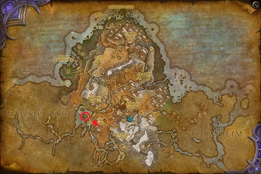 mapa de monte alto localización de avianna venganza de la garfa