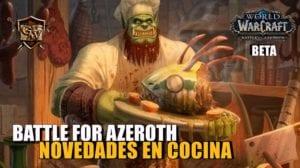 Cocina en Battle for Azeroth