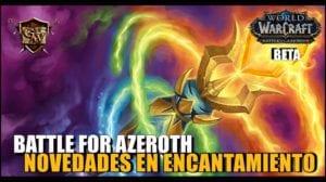 Encantamiento en Battle for Azeroth