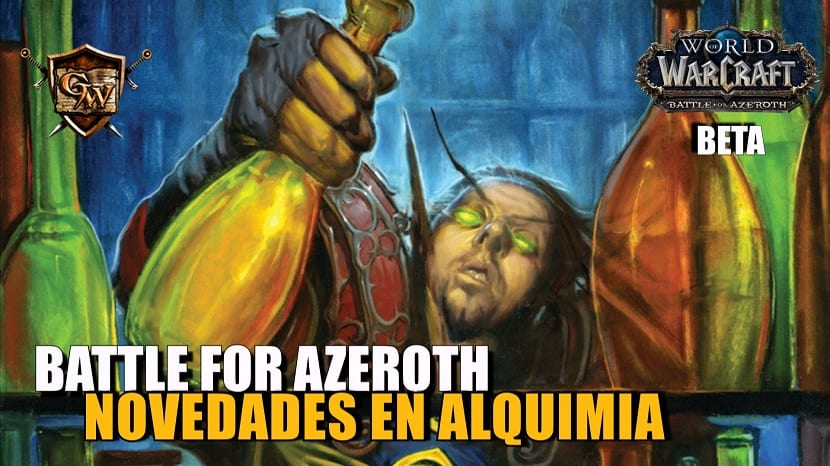 Alquimia en Battle for Azeroth