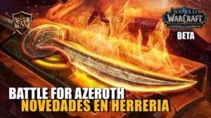 Herrería en Battle for Azeroth