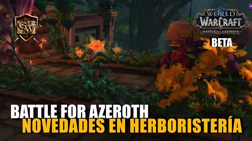 Herboristería en Battle for Azeroth