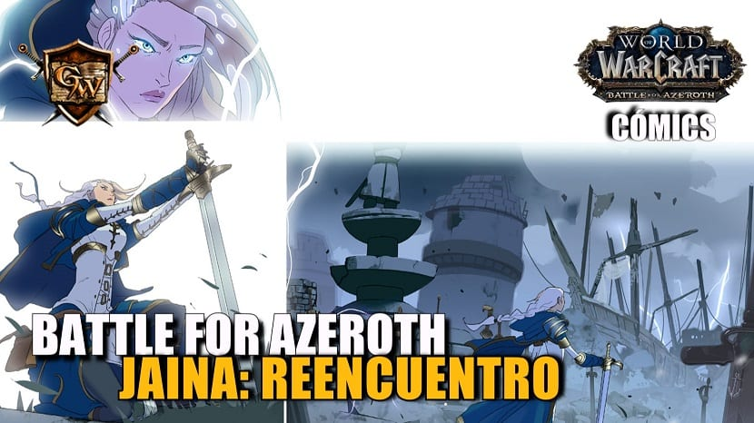 Nuevo cómic: World of Warcraft: Battle for Azeroth, n.º 1 — Jaina: Reencuentros