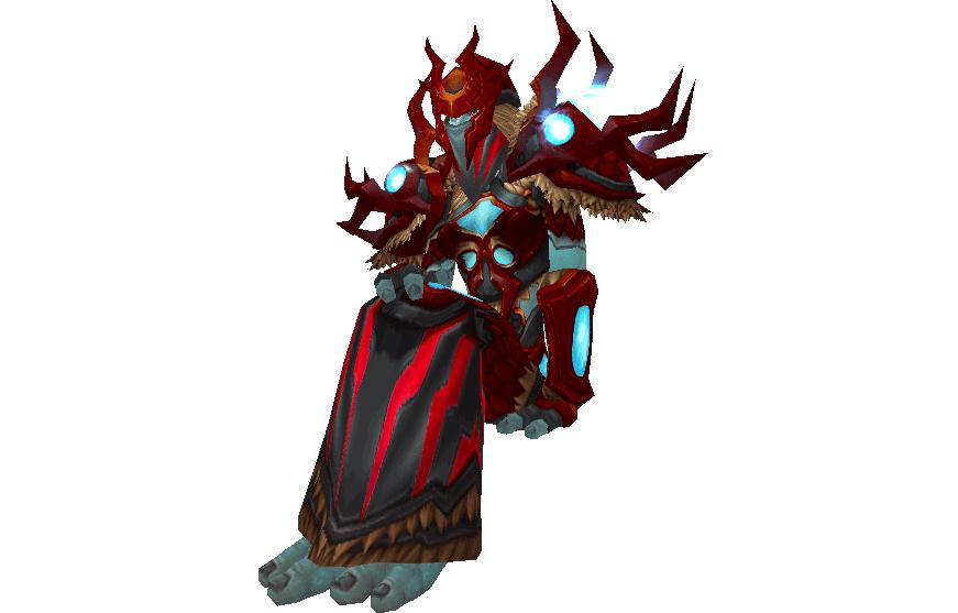armadura de cota guarnecida de gladiador vengativo