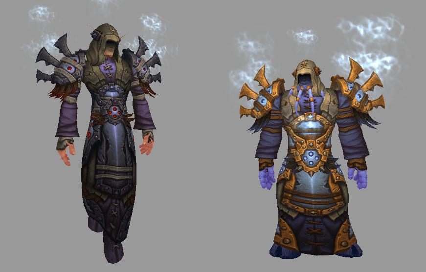 armadura de satén